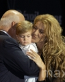 Celine Dion unveil her Bronze Star