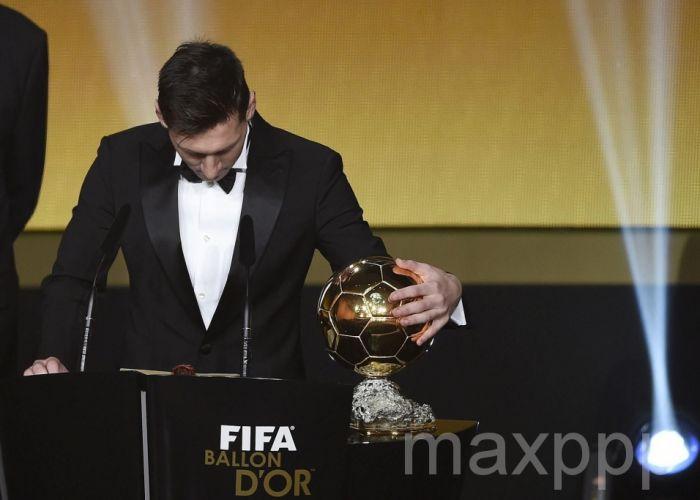 Lionel Messi Ballon d'Or : et de 5 !