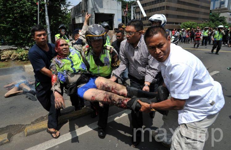 Attaques terroristes à Jakarta : au moins 6 morts